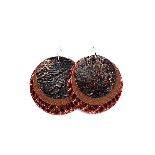 Interchangeable Coffee Wildwood - Sloane Collection - CHOOSE YOUR SHAPE