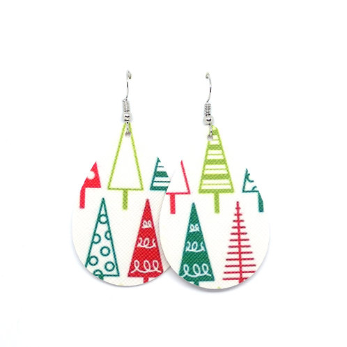 Classic Teardrop in Whimsical Trees