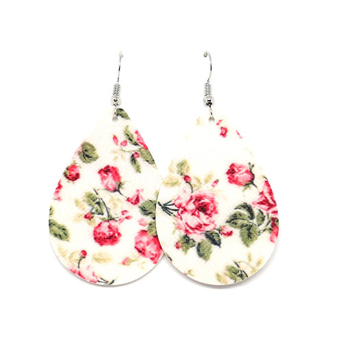 Classic Teardrop in Romantic Rose Floral