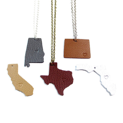 Home - State Pride - Necklace