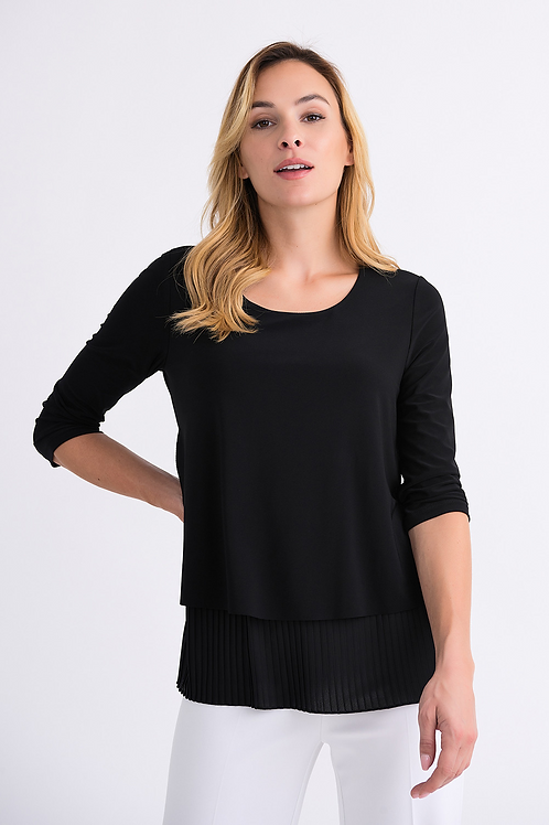 JOSEPH RIBKOFF Pleated Top