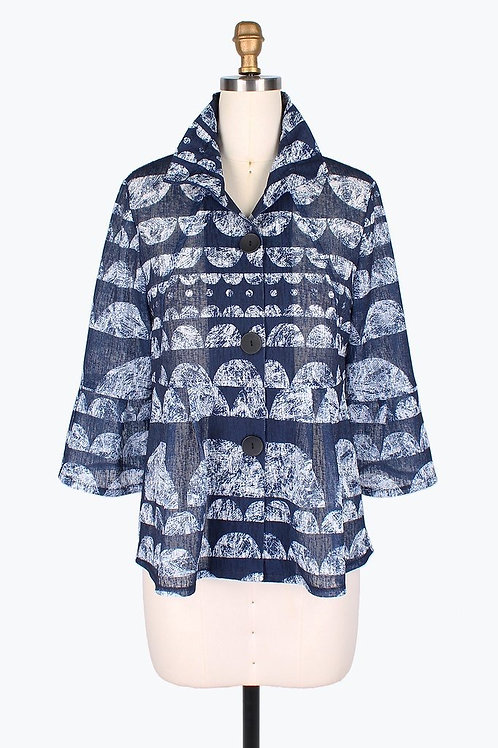 DAMEE Scallop Short Jacket