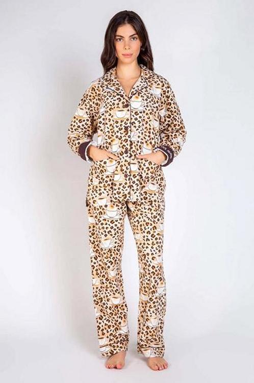 PJ SALVAGE Cool Beans Pajama Set