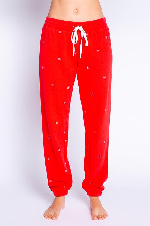 PJ SALVAGE Red Hot PJ Pant