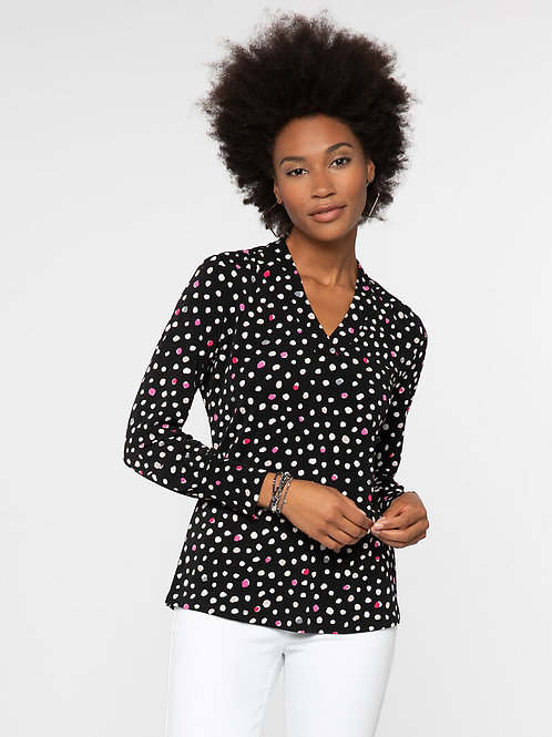 Nic+Zoe Pop Dot Top