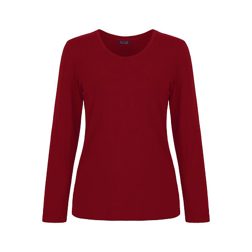 DOLCEZZA Red Long Sleeve Tee