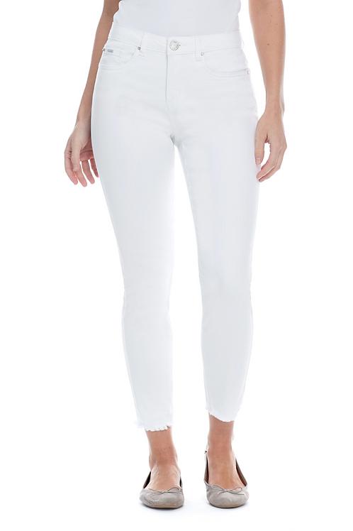 FDJ White Slim Ankle Jean