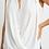 Thumbnail: JOSEPH RIBKOFF White Sleeveless Blouse