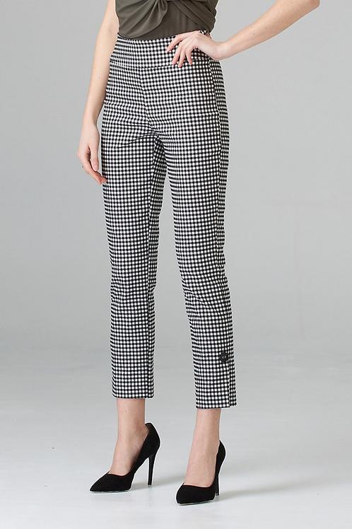Joseph Ribkoff Checkered Pant