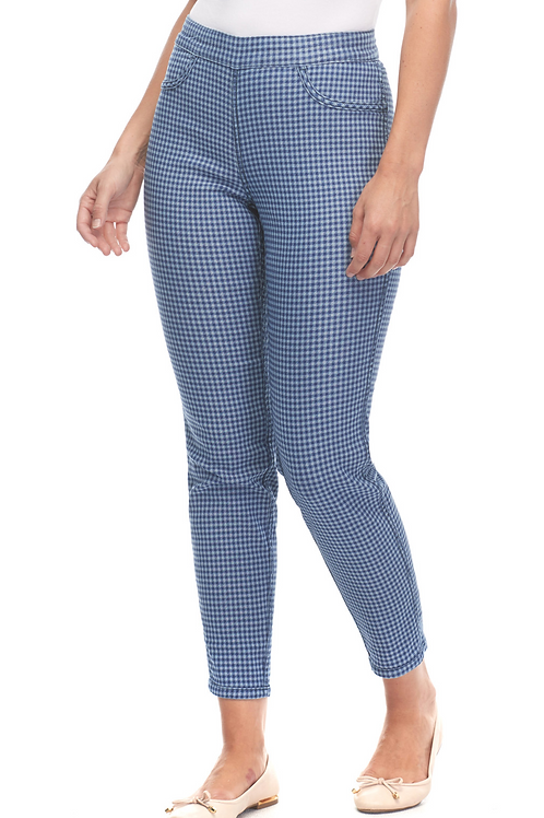 FDJ Reversible Pull-On Slim Ankle Jean