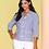 Thumbnail: ELENA WANG Blue/White Jacket
