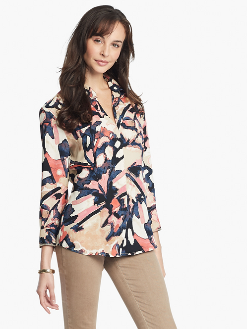 NIC & ZOE All Aflutter Blouse