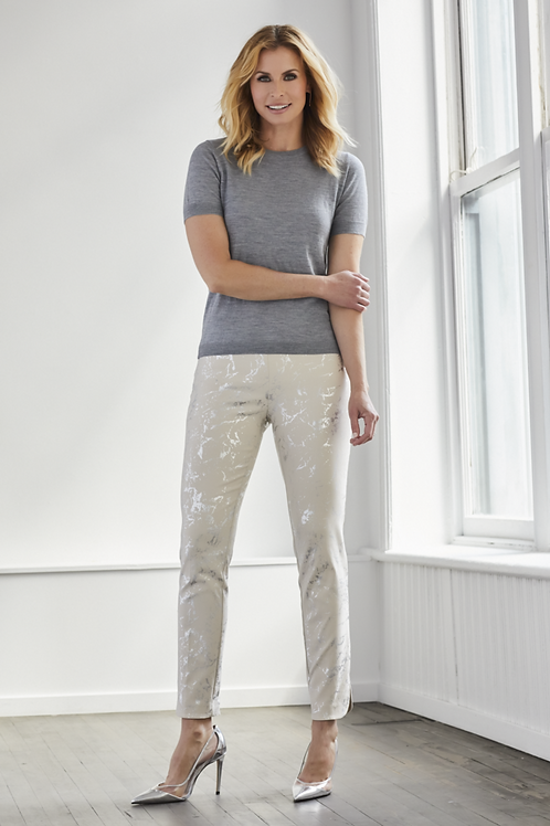 "UP! 28"" Slim Pant - Volt Silver Grey"