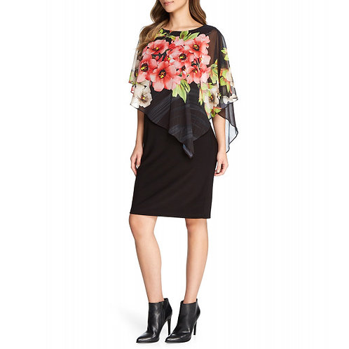 FRANK LYMAN Floral Dress