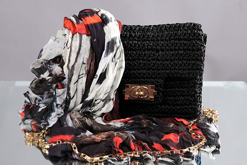 """DOLCEZZA Woven Scarf - """"Rising Up"""""""