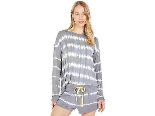 PJ SALVAGE Happy Days Charcoal Sweatshirt
