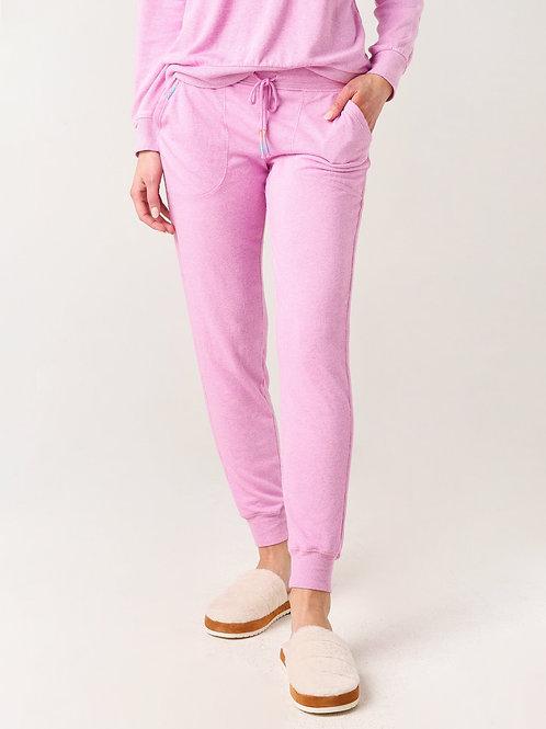 PJ SALVAGE Colored Classics Pant, Lilac Rose