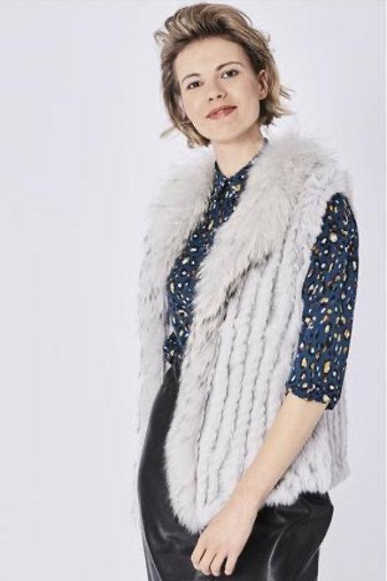 JAYLEY Fox & Coney Fur Gilet (Vest)