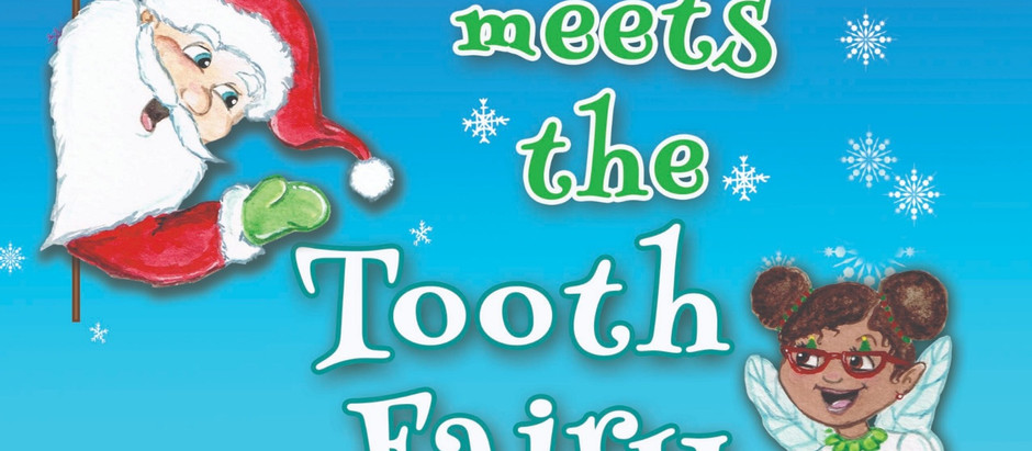 Check Out My New Book! Santa Meets the Tooth Fairy