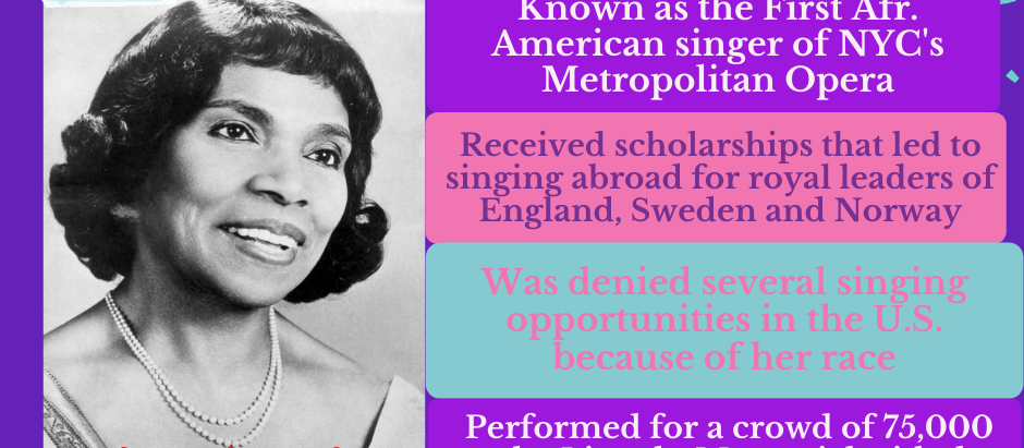African-American History Spotlight: Marion Anderson