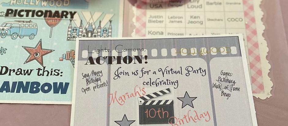 How To Throw A Virtual Birthday Party!
