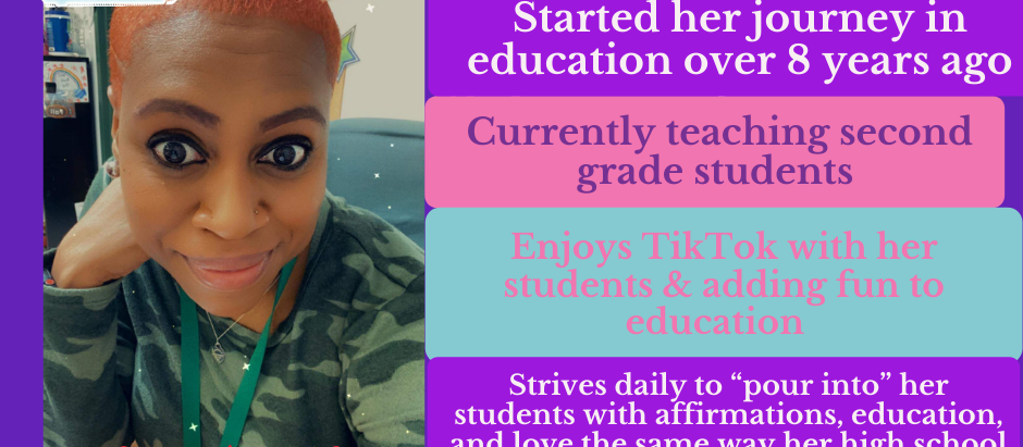 Teacher Appreciation Week: Ms. Jackson