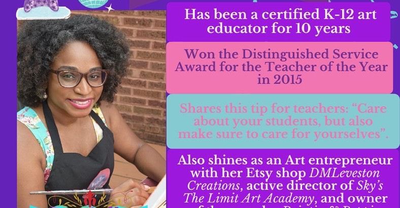 Teacher Appreciation Week: Ms. Leveston