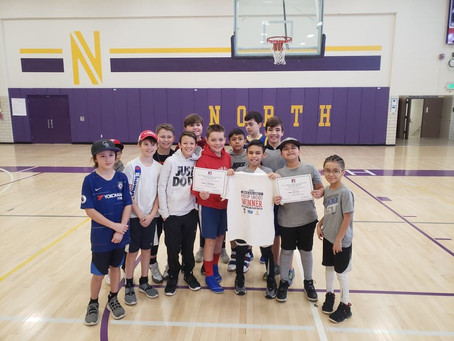 Hoops Shoot Contest a Great Success