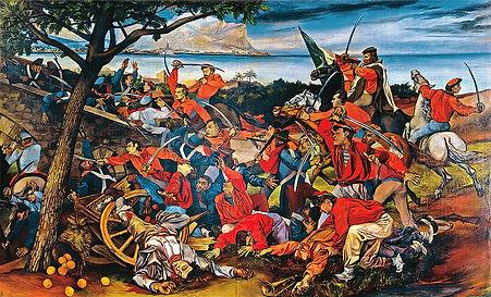 Guttuso La battaglia di Ponte dell'ammir