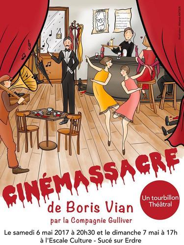 cinémassacre de Boris Vian