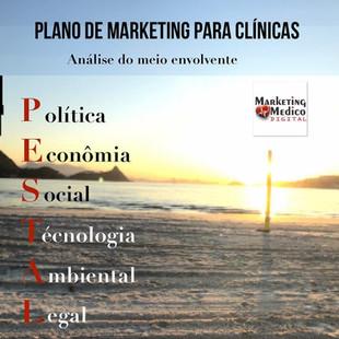 Análise Pestal -Plano de Marketing Médicopara Clínicas