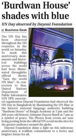 News on UN Day