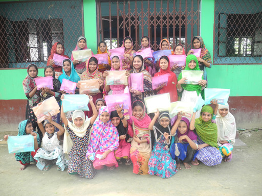 Monthly Hygiene Kits Distribution Program by Dayemi Foundation