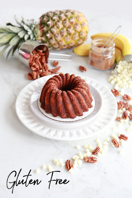 GLUTEN FREE 16 oz. Hummingbird Rum Cake