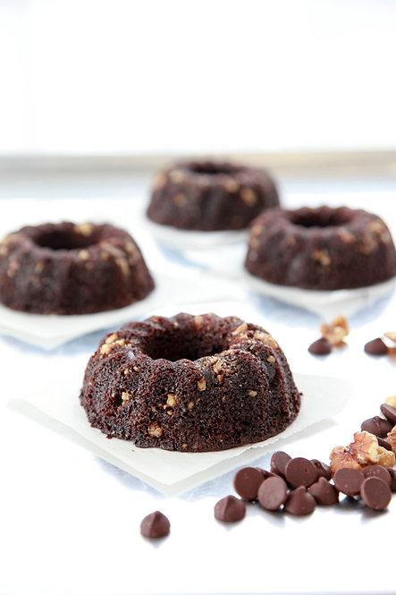 5 oz Dark Chocolate Rum Cake