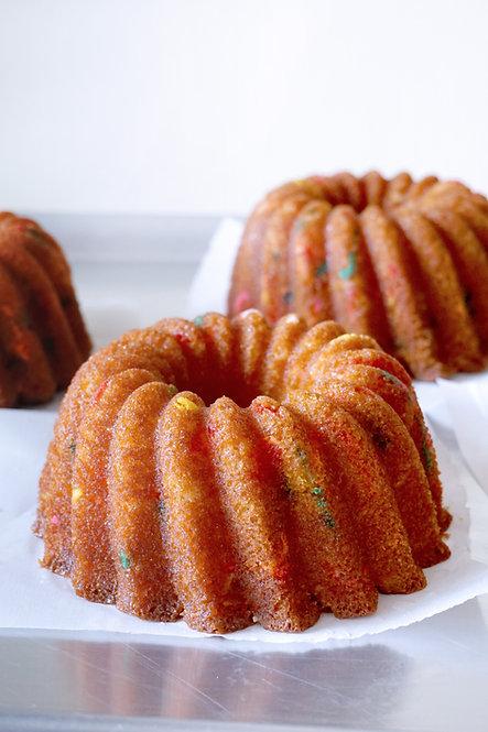 16 oz Funfetti Rum Cake