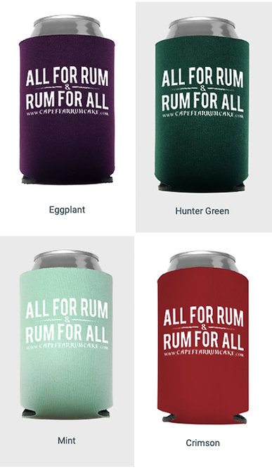 All for Rum Koozie - Get a pair!