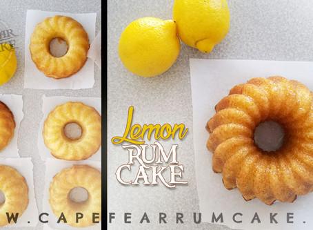 Lemon + Rum Cake = Spring