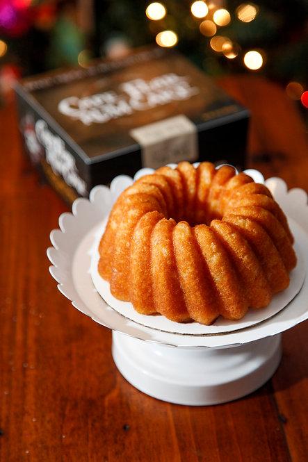 16 oz Egg Nog Rum Cake