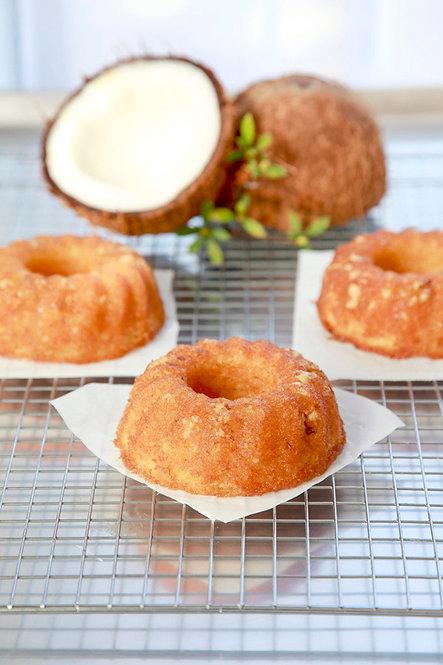 GLUTEN FREE 5 oz. Coconut Rum Cake