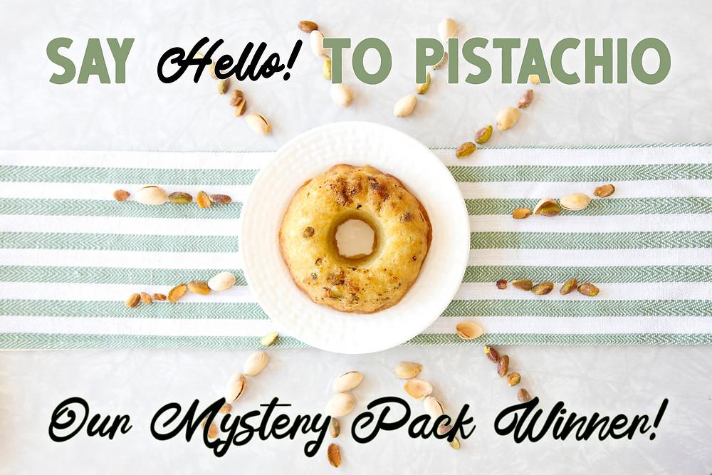 Pistachio Rum Cake by Cape Fear Rum Cake
