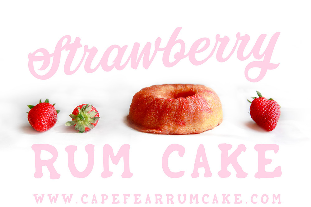 Strawberry Rum Cake by Cape Fear Rum Cake