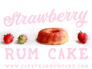 May is National Strawberry (Rum Cake) Month