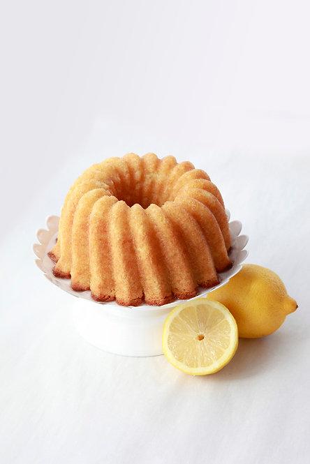16 oz Lemon Rum Cake