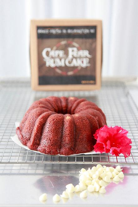 32 oz Red Velvet Rum Cake