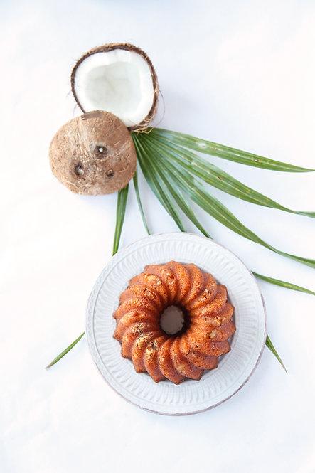 16 oz Coconut Rum Cake