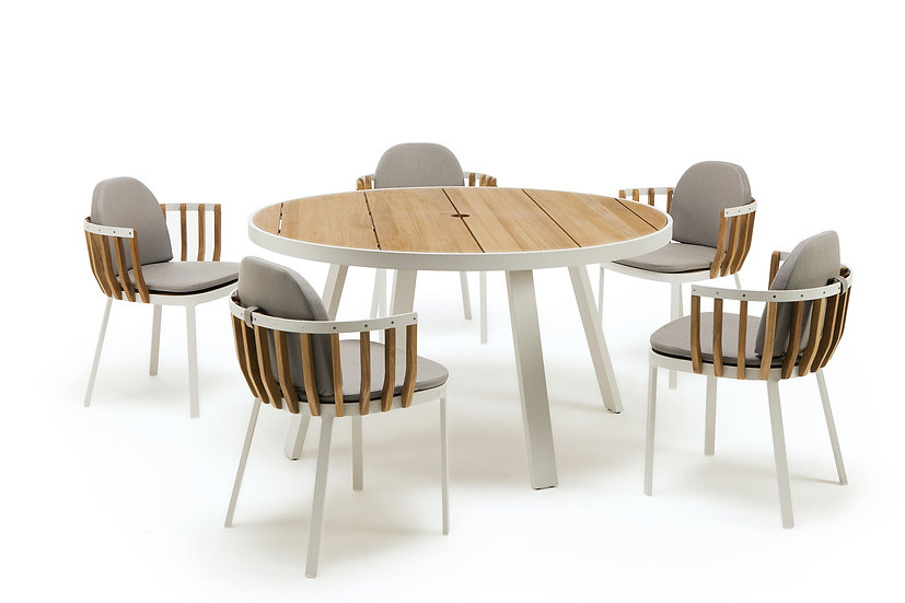 SWING by Ethimo- Round dining set