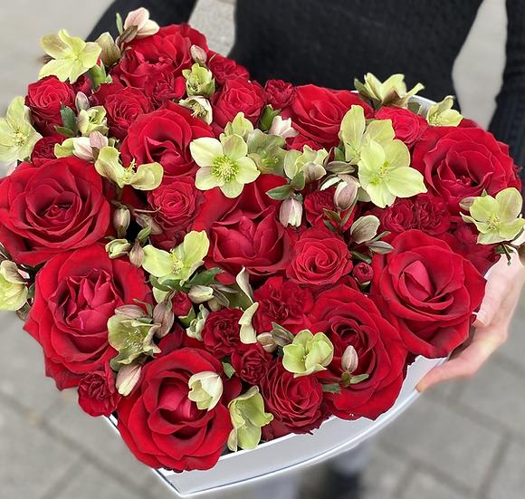 Rózsa szív