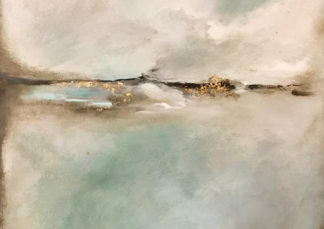 Lake Jocasee Abstract IV