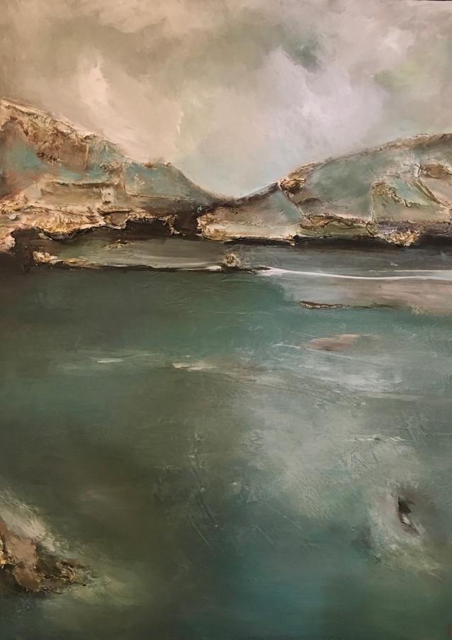 Lake Jocasee Abstract V